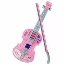 Violin Musical De Princesas Disney Concierto Con Luz Winf