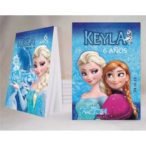 Frozen Souvenir Anotador Personalizado X32!!!
