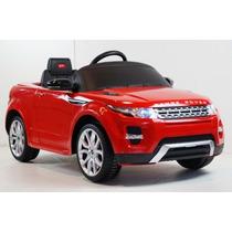 Auto Eléctrico Land Rover Evoque 12v Rojo O Negro Ultimos!!