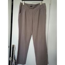 Pantalon Tipo Seda De Gap Nuevo Color Vison T Xxl