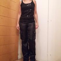 Blusa Negra Con Brillos Para Fiesta Marca Wupper