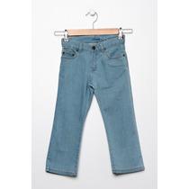 Pantalones Jeans Lacoste Stretch Para Niños, Hj4525