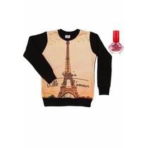 Buzo Paris De Frisa Con Sublimado Pecosos