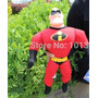 Peluche Mr Increible De Los Increibles Disney 35 Cm Aprox