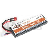 Bateria 4000 Mah 7,4v 2s Rc Radio Control Lipo Auto Hsp Red