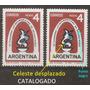 Argentina Gj 1265a Variedad Catalogado U$s12.- Mt 676