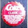 Coca Cola, Tapita De Chapa Coke Classic, Usa, Eeuu.