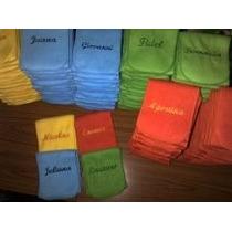 Souvenirs- Bufandas De Polar Personalizads - Pack Por 10