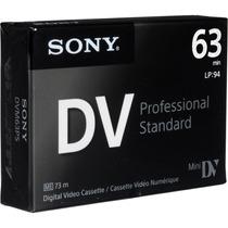 Cassette Minidv Sony Premium - Distribuidores Oficiales X 5u