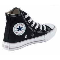 Converse All Star Bota Negra Bb !! Originales