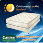 Colchon + Sommier Exclusive Con Pillow 1 Metro De Ancho