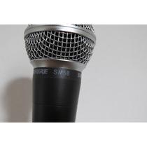 Micrófono Shure Sm58 Nuevo C/pipeta Y Estuche