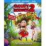 Lluvia De Hamburguesas 2 Combo 3d Blu Ray Original