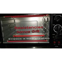 Resistencias Velas Hornos Grill Electricos