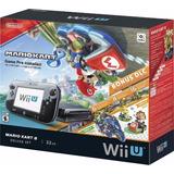 Consola Nintendo Wiiu 32gb Bundle Mario Kart Com Dlc