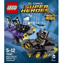 Lego Batman Vs.catwoman Super Heroes 76061 Original