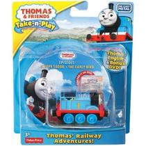 Thomas Take N Play Thomas Con Dvd Jugueteria El Pehuén