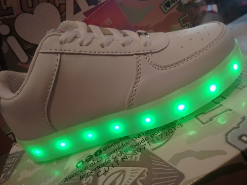 6999b1de8 ... footy luces led cable usb no30 31. Zapatillas Led 47 Street