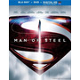 Blu-ray+dvd -- Man Of Steel
