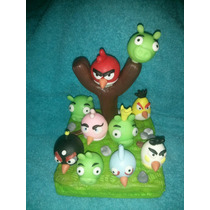 Angry Birds Central Adorno De Torta