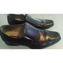 Zapatos Hombre Negros State Street Usa Oferta!