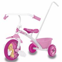 Triciclo Infantil Con Manija Para Chicos Barbie Art 30200