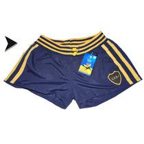 Short De Dama Boca Juniors Oficial - Est Puan