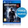 Uncharted 4 Playstation 4 El Desenlace Del Ladrón Ps4 Local