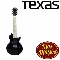 Texas Eg-lp-b-tex Guitarr Electrica Para Niño T/lp Rock Mini