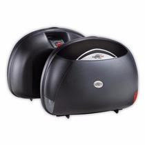 Juego Baul Lateral Maleta Grande Kappa K40n 40 L Moto Sur