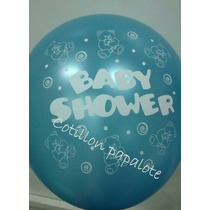 10 Globos Baby Shower Bebe Nena Nene Beba Candy Bar Cumple