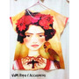 Remeras Para Nenas Frida Kahlo ,marilyn ,principito