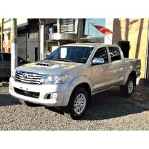 Toyota Hilux 3.0tdi Srv C/cuero D/c Mt Excelente, Anticipo $