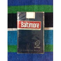 Paquete Cigarrillos Baltimore Mixture Azul 20 Cerrado Antig