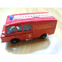 Matchbox Lesney Land Rover Fire Truck Autito De Coleccion
