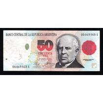 Billete Argentina 50 Pesos Convertibles 1er Dis Bottero 3062