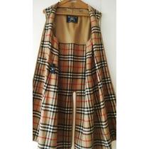 Burberrys Original Ingles Abrigo Para Impermeable De Mujer