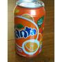 Lata Fanta Naranja Brasil Nueva 2012