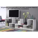 Mesa De Tv Lcd - Modular -. Promoción Limitada