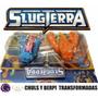 Bajoterra Slugterra Set X6 Transformadas Grandes