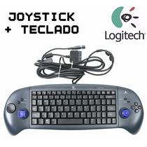 Joystick Analogico Dualshock Ps2 + Teclado Usb Desmontable !