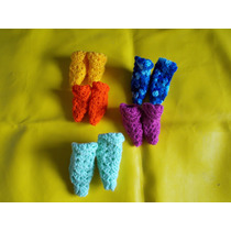 Pantuflas Tejidas Enteramente A Crochet