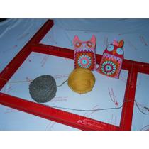 Telar Bastidor Regulable Cuadrado/rectangular 75x75cm