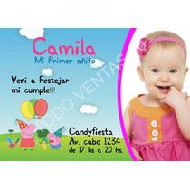 Invitaciones Cumpleaños Infantiles / Planillas Candy Bar