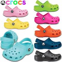 Crocs Classic Sandalias Zuecos Originales Niños Mujer Al 35