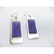 Aros Telare Artesanal Alapaca + Textil Diseño & Calidad