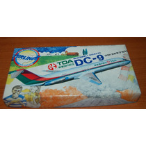 1970 Avión Model Kit Mc Donnell Douglas Dc-9 Tda Aerolinea