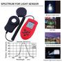 Luxómetro Tester Fotómetro Detector Intensidad Luz Vivero.