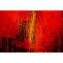Lamina - Abstracto Rojo - 70 X 50 Cm.