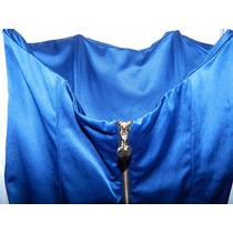 Vestido Las Oreiro Azul Oscuro Eléctrico